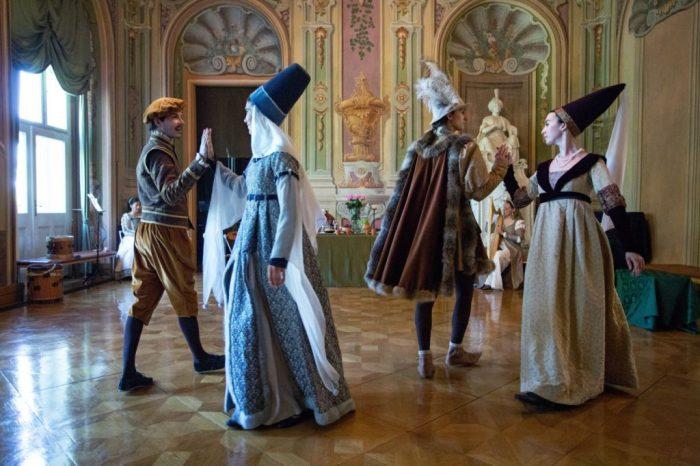 középkori tánc