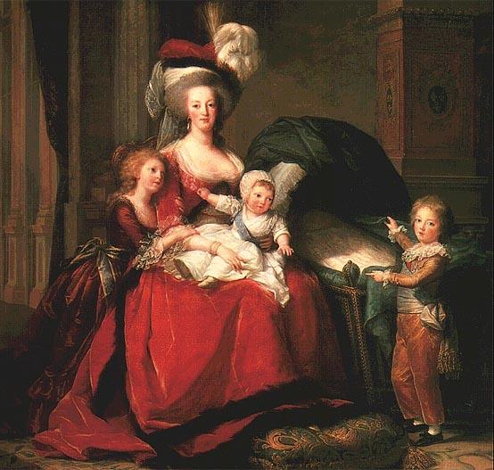 Mária Antoinette és gyerekei